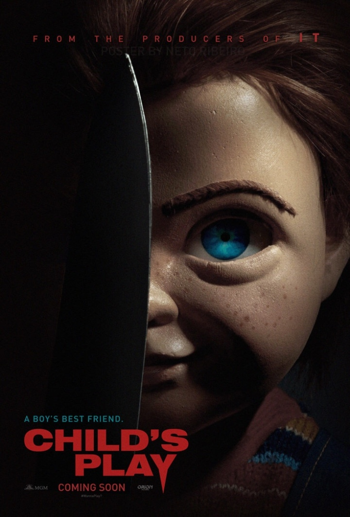 Resultado de imagem para child's play 2019 poster